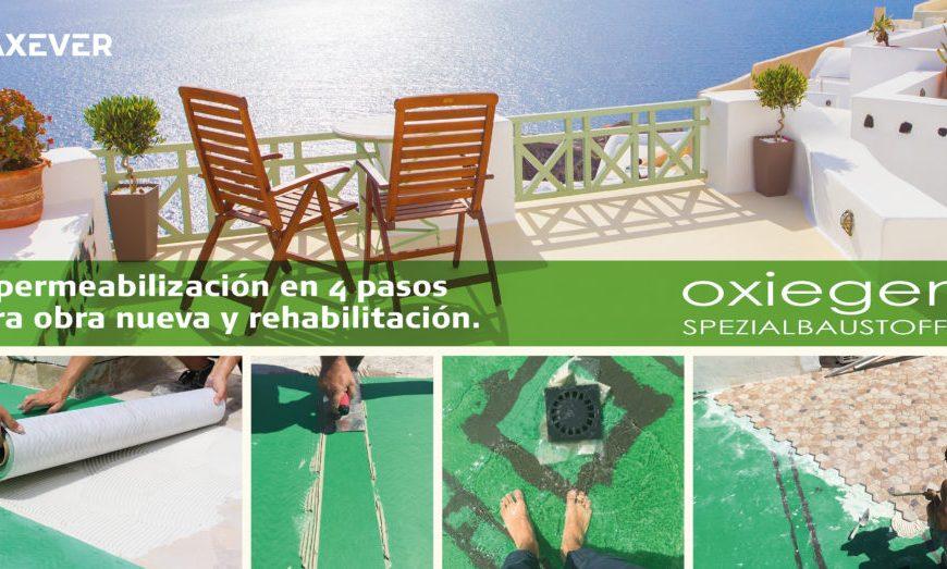 Coneix les propietats de les lamines impermeabilitzants Oxiegen® d'Axever
