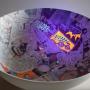Lavabos y murales lumínicos Bathco Atelier